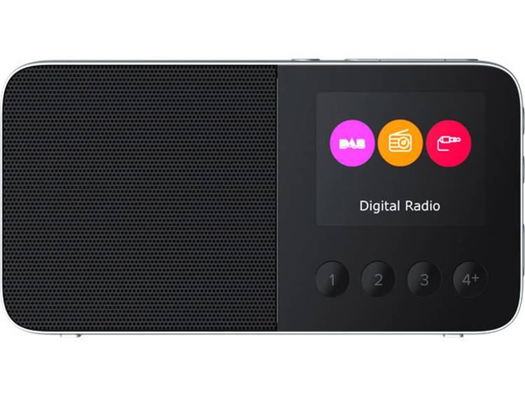 Pure Move T4 DAB+ Zakradio Bluetooth, FM Herlaadbaar Zwart