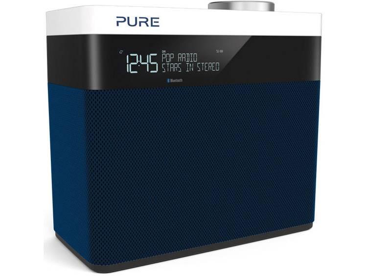 Pure POP Maxi S DAB+ Tafelradio AUX, Bluetooth, FM Herlaadbaar Navy-blauw