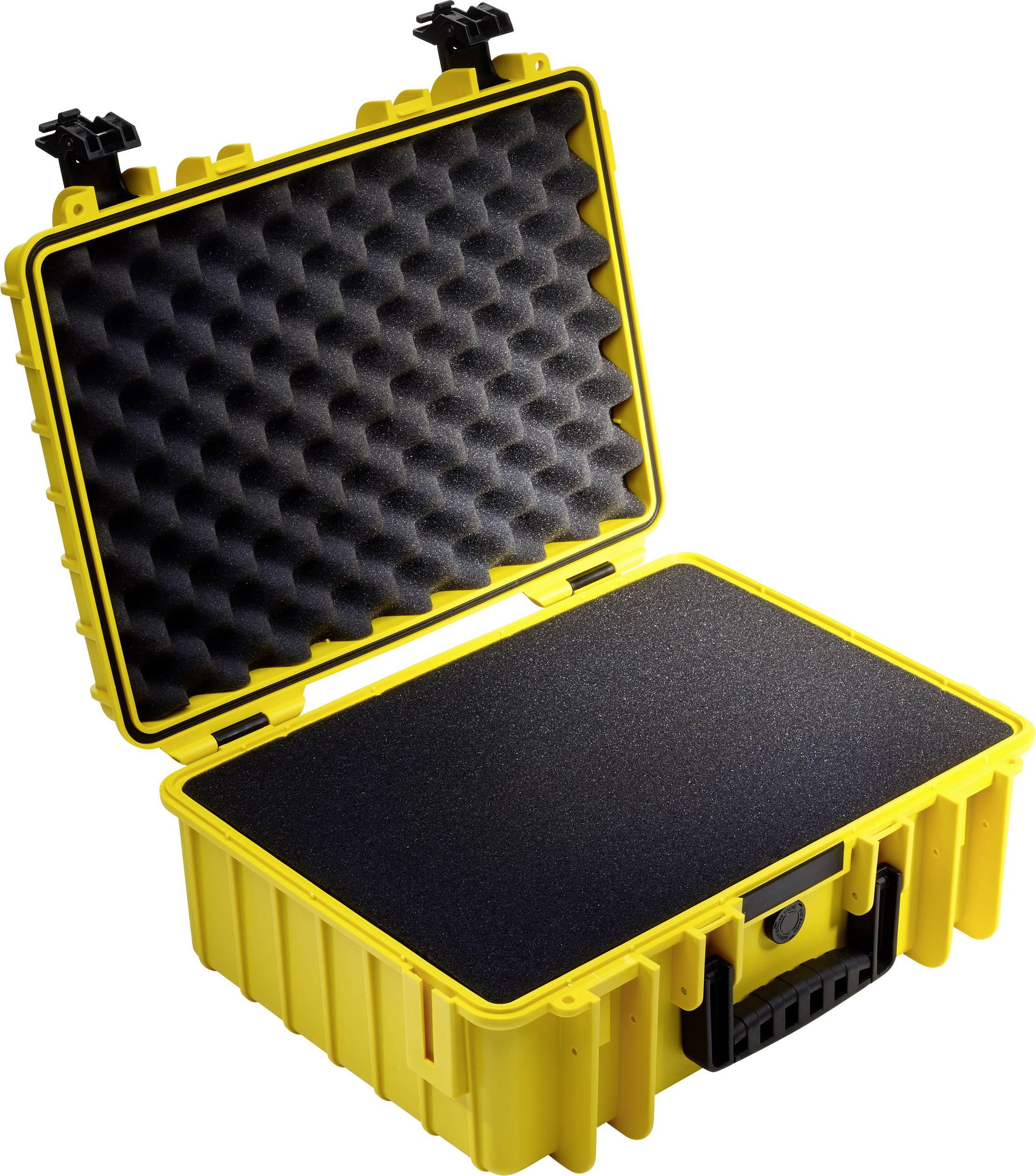 2c134c520d0 B & W Outdoor-koffer outdoor.cases Typ 5000 22.1 l (b x h x d) 469 x 188 x  365 mm Geel 5000/Y/SI