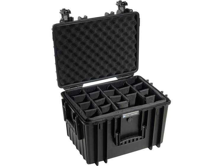 B&W outdoor.cases Type 5500 zwart + Verdeler