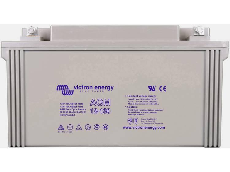 Victron Energy Deep Cycle Loodaccu 12 V 130 Ah Loodvlies (AGM) (b x h x d) 176 x 410 x 227 mm