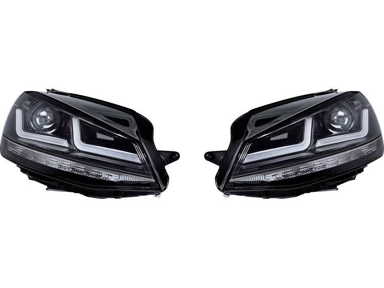 Complete schijnwerper LEDriving® Golf VII Black Edition Halogenersatz LED Osram Auto (l x b x h) 63 x 40 x 24 cm Zwart