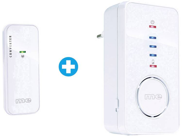 m-e modern-electronics 41163 Complete set voor Draadloze deurbel
