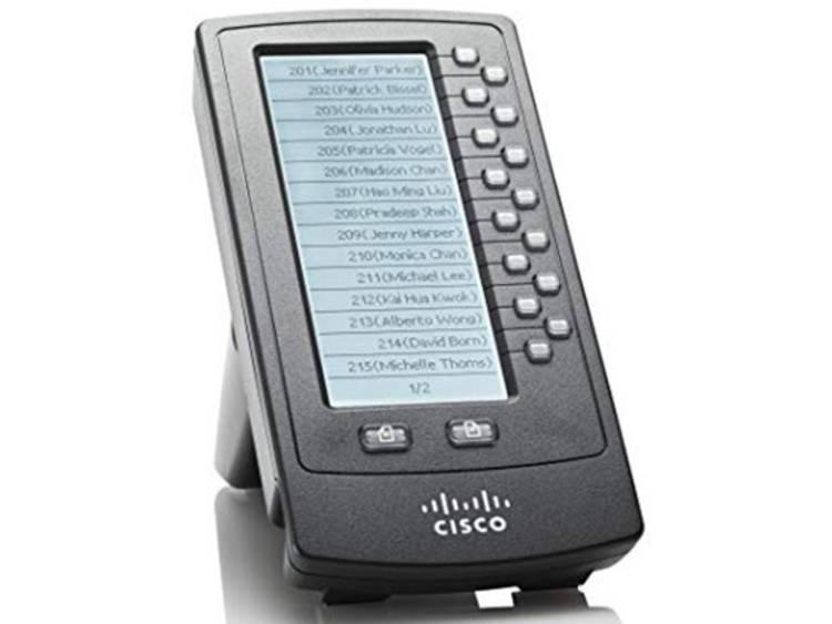 Cisco IP, 13.97 cm (5.5 ) LCD 128 x 320 px, 900 g, Black (SPA500DS)