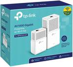TP-Link TL-WPA7510 KIT 1000 Mbit/s ingebouwde ethernet-aansluiting WiFi wit powerline-netwerkadapter