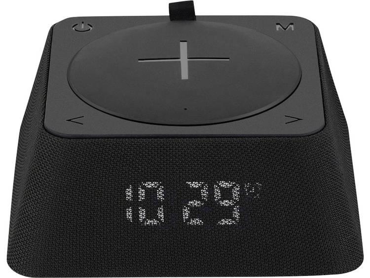 swisstone Q-Box Bluetooth luidspreker FM radio, USB Zwart