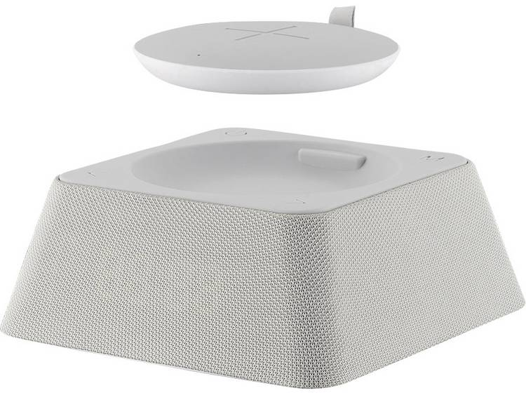 swisstone Q-Box Bluetooth luidspreker FM radio, USB Grijs