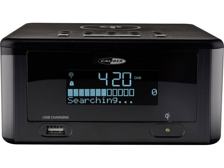 Caliber Audio Technology HCG 0100iDAB-BT Wekkerradio DAB+, FM Bluetooth, USB Acc