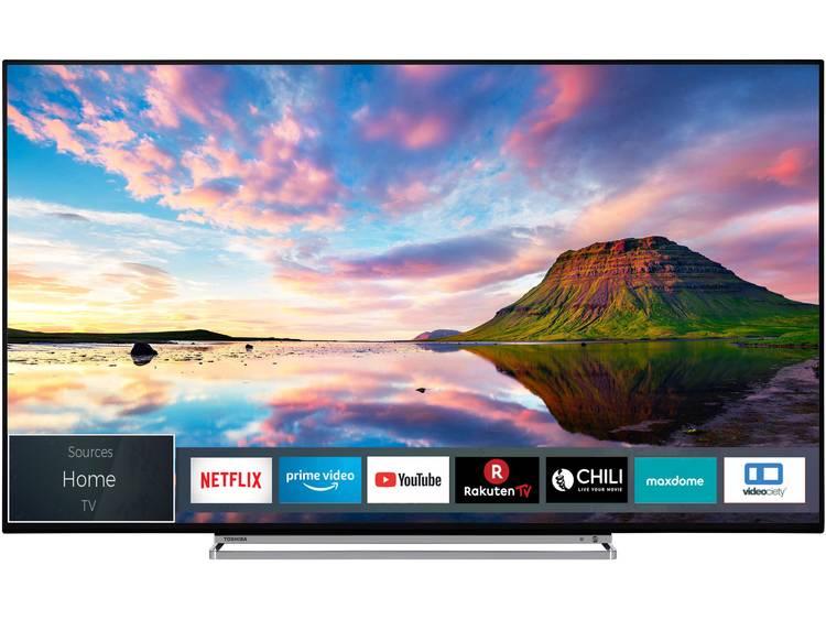 Toshiba 65U5863DA LED-TV 165 cm 65 inch Energielabel: A+ (A++ – E) DVB-T2, DVB-C, DVB-S, UHD, Smart TV, WiFi Zwart