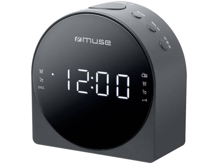 Muse M-185 CR FM Wekkerradio AUX Grijs