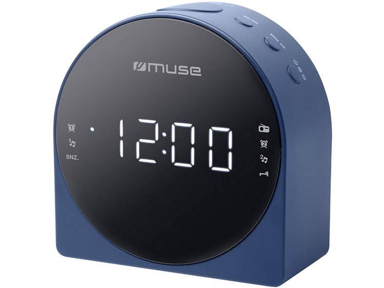 Muse M-185 CB FM Wekkerradio AUX Blauw