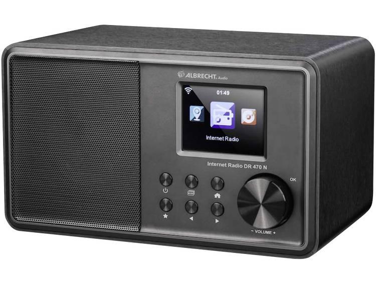 Albrecht DR 470 N Tafelradio met internetradio FM AUX, DLNA, WiFi, Internetradio