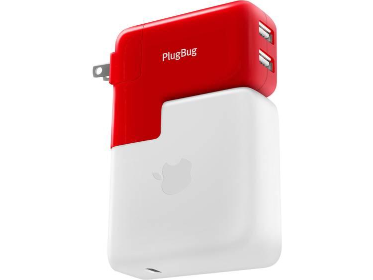 Twelve South PlugBug Duo 12-1706 USB-oplader Thuis USB Met UK-stekker, Met USA-stekker, Met Australi
