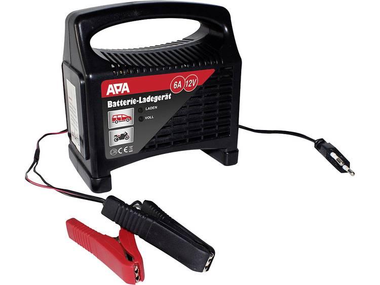 APA Oplader 12 V 6 A AGM-geschikt