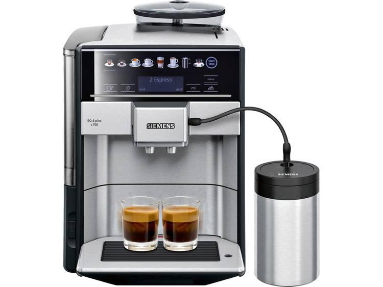 Siemens EQ 6 plus TE657M03DE Koffievolautomaat RVS