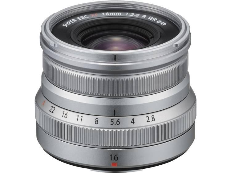 Fujifilm XF 16mm f-2.8 R WR objectief Zilver