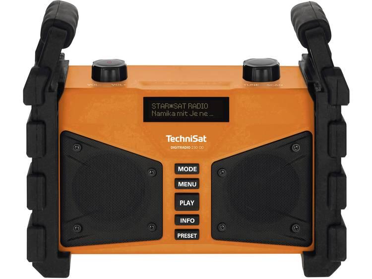 TechniSat Digitradio 230 OD Bouwradio DAB+, FM AUX, Bluetooth, USB Spatwaterbest