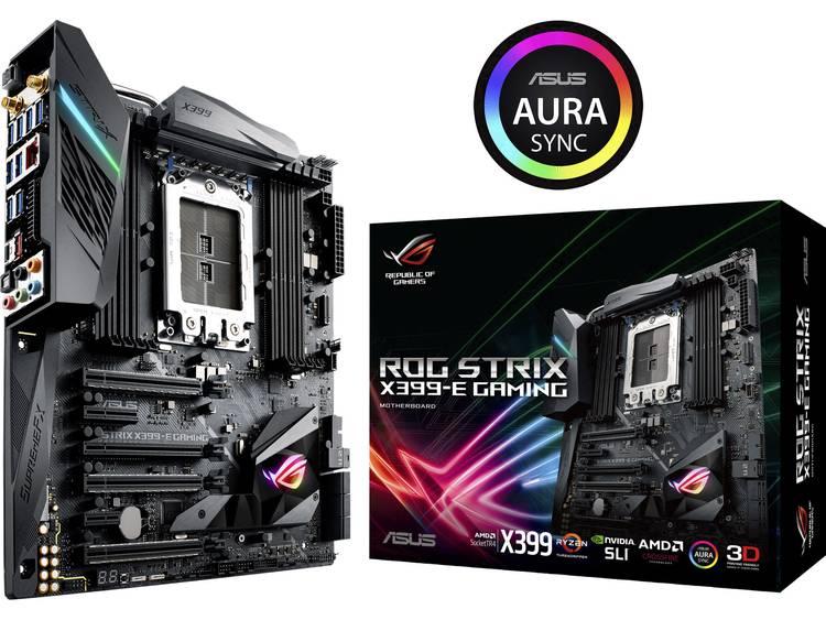 Asus ROG STRIX X399-E GAMING Moederbord Socket AMD TR4 Vormfactor E-ATX Moederbord chipset AMD® X399