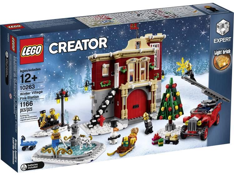 LEGO® CREATOR 10263 Winterse brandweergarage