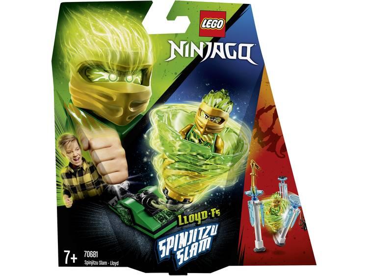 Lego 70681 Ninjago Spinjitzu Slam Lloyd