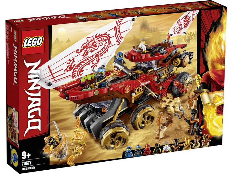 Lego 70677 Ninjago Land Bounty