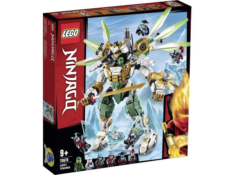 Lego 70676 Ninjago Lloyd's Titan Mech