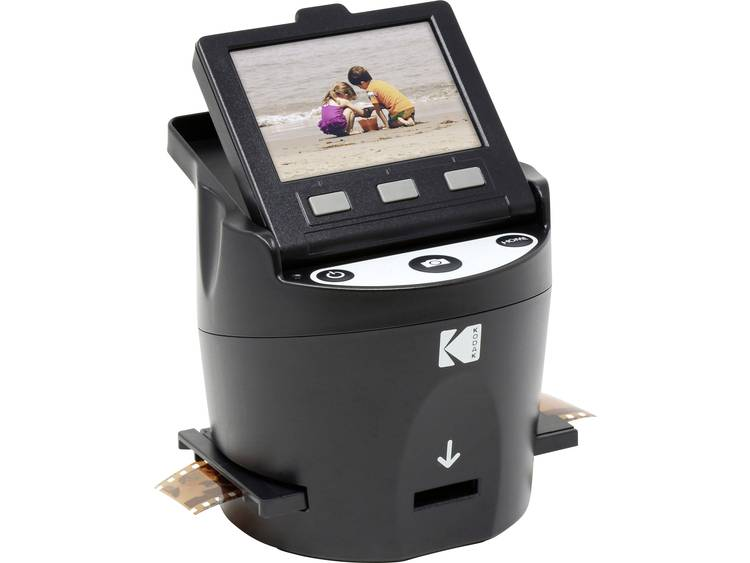 Kodak SCANZA Digital Film Scanner Filmscanner 14 Mpix Doorlichtmodule, Geïntegreerd display, Digita