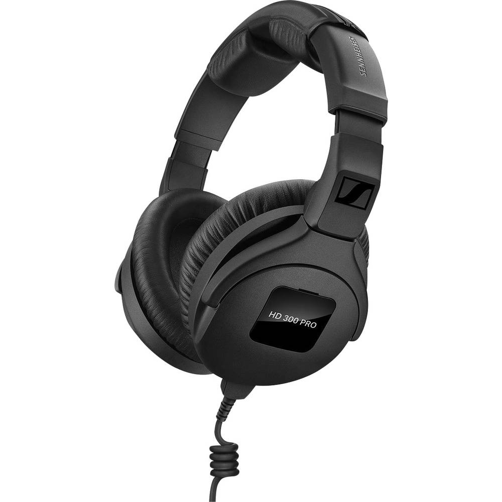 Sennheiser HD 300 Pro HiFi Over Ear hörlurar Over Ear Svart