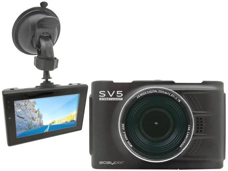 Easypix Streetvision SV5 Dashcam Kijkhoek horizontaal (max.) 140 ° Display