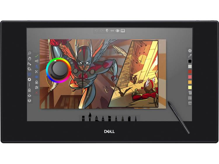 Dell Canvas 27 Tekentablet Zwart