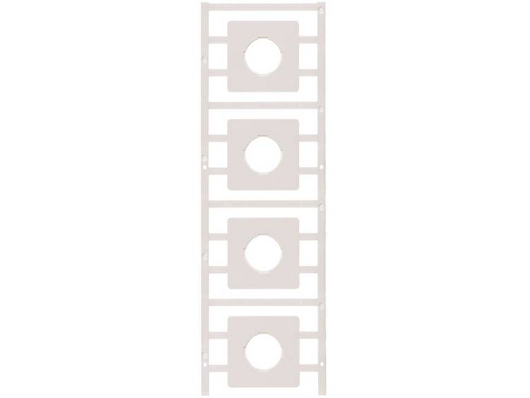 Weidmüller 1323570000 SM 44/44-21 MC NE WS Kabelmarkeringssysteem Wit Aantal markeringen: 20 20 stuk(s)