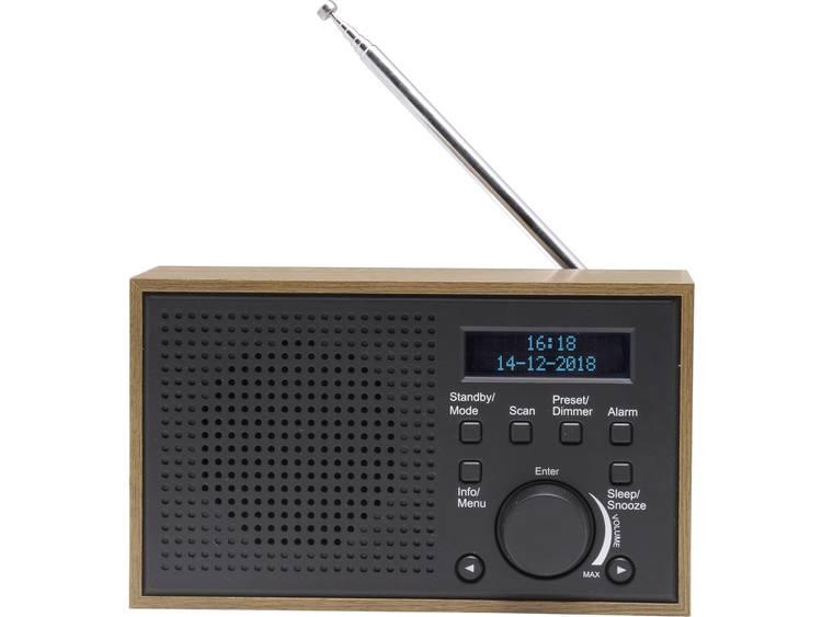 Denver DAB-46 DAB+ Tafelradio FM Grijs