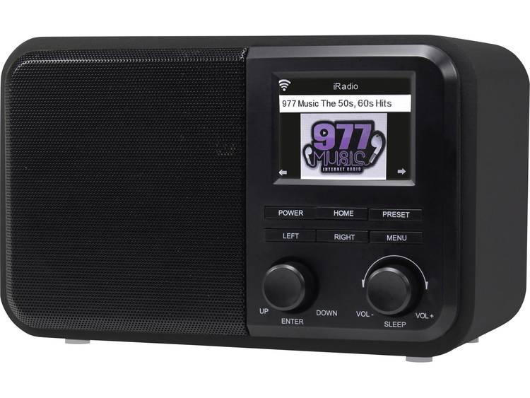 Denver IR-130 Tafelradio met internetradio Internet DLNA, WiFi, Internetradio Ge