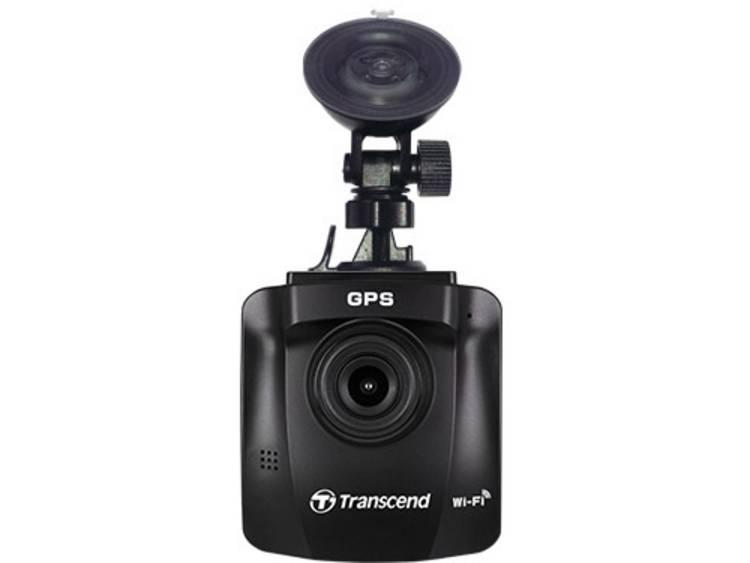 Transcend DrivePro 230 Dashcam met GPS Kijkhoek horizontaal (max.) 130 °