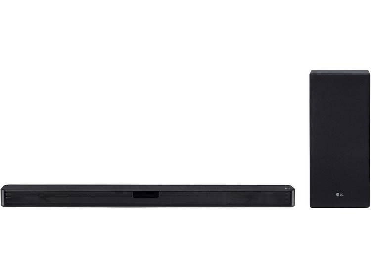 LG Electronics SL5 Soundbar Zwart Bluetooth, High-Resolution Audio, Incl. draadl