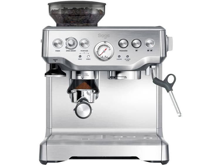 Espressomachine Sage The Barista Express Zwart 2400 W Met koffiemolen, Met melkopschuimer