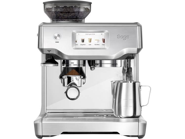 Espressomachine Sage The Barista Touch Zwart 2400 W Met koffiemolen, Met melkopschuimer, Display
