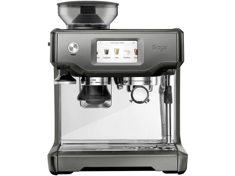 Espressomachine Sage The Barista Touch Wit, Zwart 2400 W Met koffiemolen, Met melkopschuimer, Display