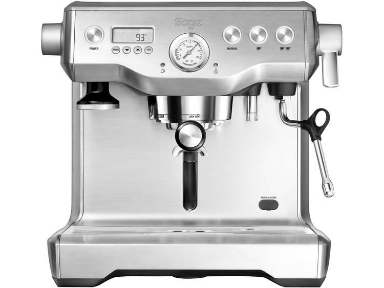 Espressomachine Sage The Dual Boiler Zwart 2200 W Met heet water tap, Display, Met melkopschuimer