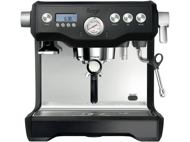 Espressomachine Sage The Dual Boiler RVS, Zwart 2200 W Met heet water tap, Display, Met melkopschuimer