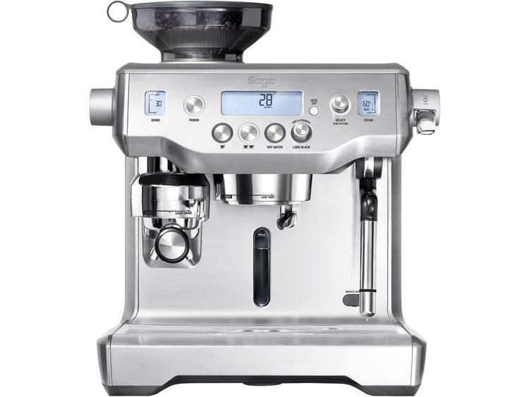 Espressomachine Sage The Oracle Zilver 2400 W Display, Met koffiemolen, Met melkopschuimer
