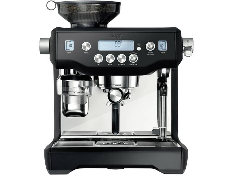 Espressomachine Sage The Oracle Zwart, Zilver 2400 W Display, Met koffiemolen, Met melkopschuimer