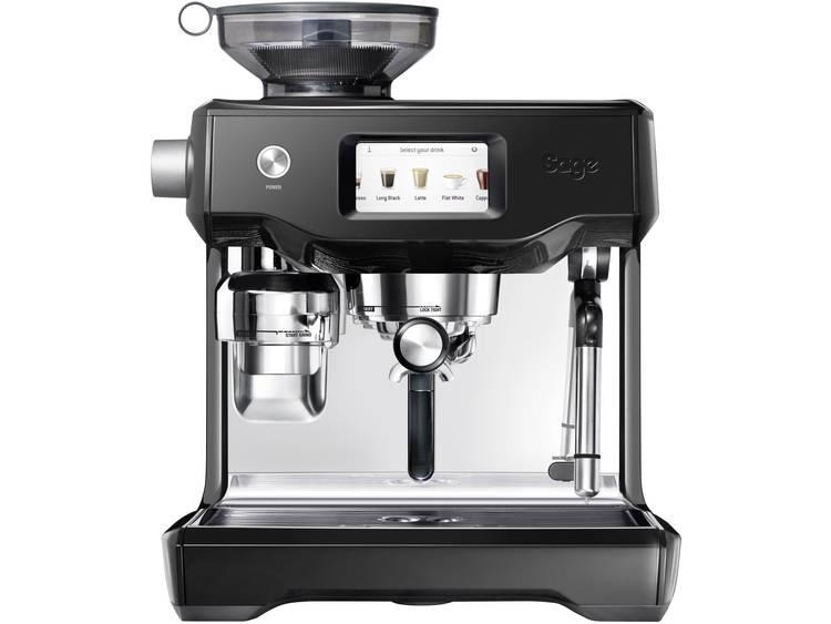 Espressomachine Sage The Oracle Touch Zwart, RVS 2400 W Display, Met koffiemolen, Met melkopschuimer