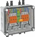 OBO VG-BC900S11 PV-systeem oplossing in de behuizing 2x1 fotovoltaïsche string op 2 WR-MPP+MC4 900 V