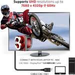 Club 3D DisplayPort 1.4 HBR3 8k kabel stekker/stekker 5 meter