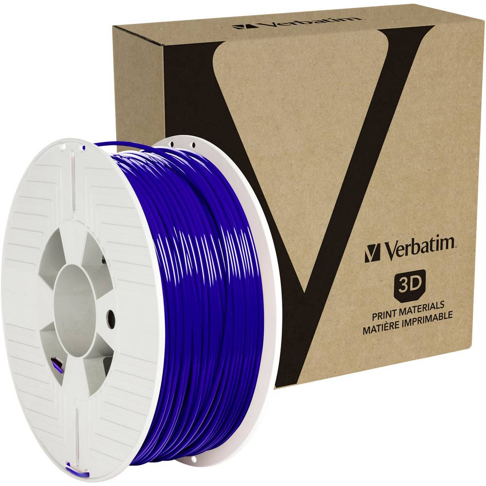 Verbatim 55063 3D-skrivare Filament PETG 2.85 mm 1 kg Blå 1 st