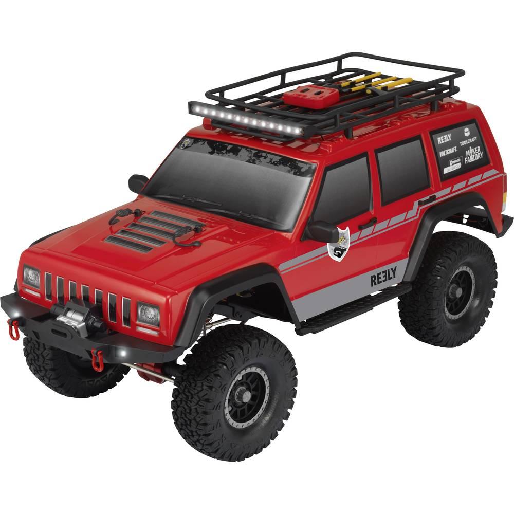 RC modellbil Crawler 1:10 Reely Free Men Pro Borst motor Elektrisk Fyrhjulsdrift (4WD) 100% RtR