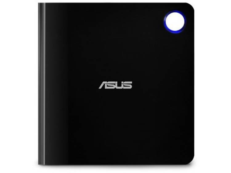 Asus (SBW-06D5H-U) Ultra-slim External Blu-Ray Writer, 6x, USB 3.1 A-C, M-DISC Support, Cyberlink Po