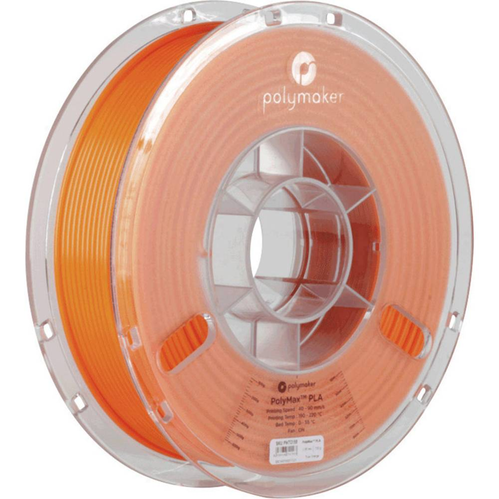 Polymaker 70154 PolyMax 3D-skrivare Filament PLA-plast 1.75 mm 750 g Orange PolyMax 1 st
