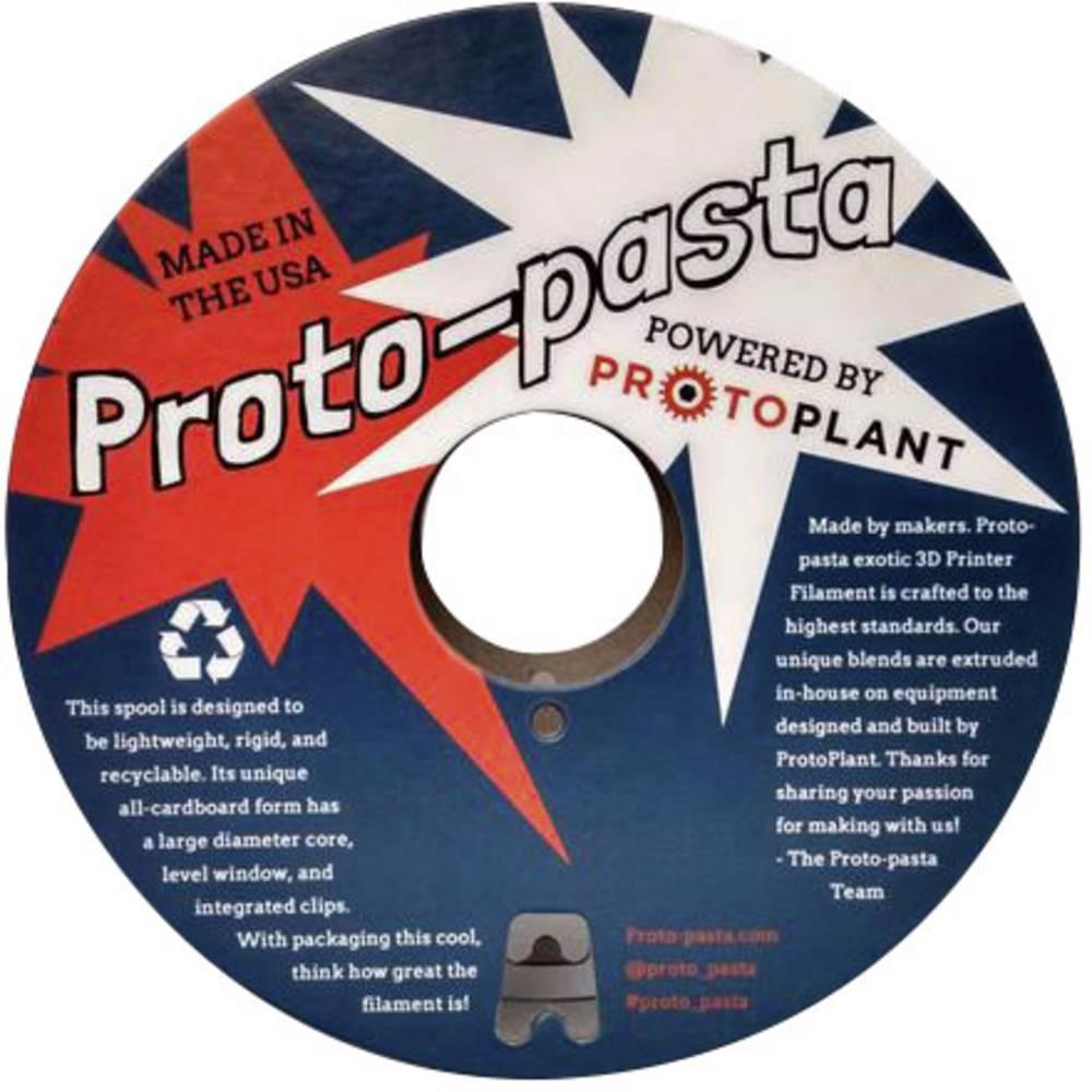 Proto-Pasta FEP11705 3D-skrivare Filament PLA magnetisk 1.75 mm 500 g Grå 1 st